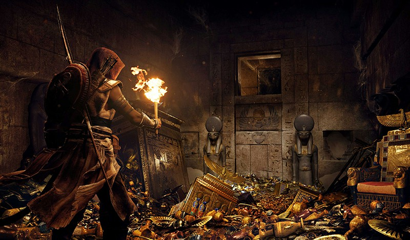 Assassin's Creed Unity: A Method For Solving Puzzles In The Crypt Of The King's Tomb