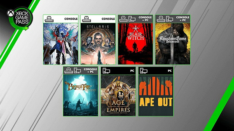 Kingdom Come Deliverance and Ape Out On Xbox Game Pass Games Now Available