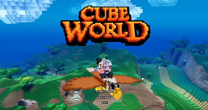 Cube World 2.0 to hopefully launch on Steam around the end of September/October 2019