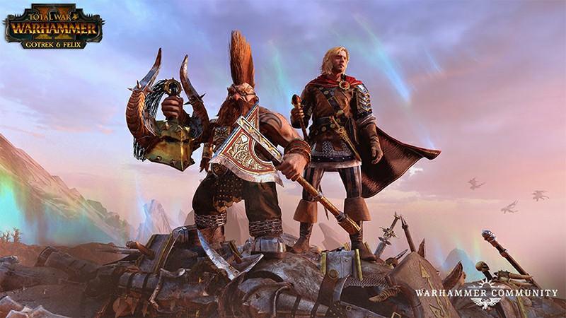 Total War: Warhammer 2 adding Gotrek and Felix for free