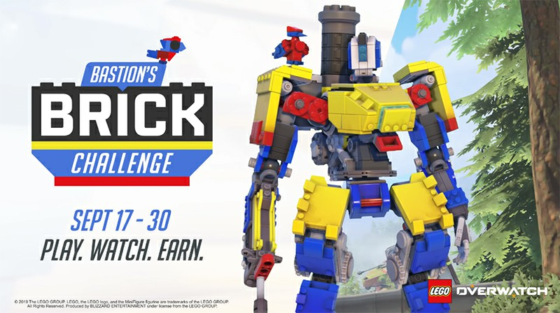 Overwatch's Latest Event Gives Bastion A Lego-Themed Skin