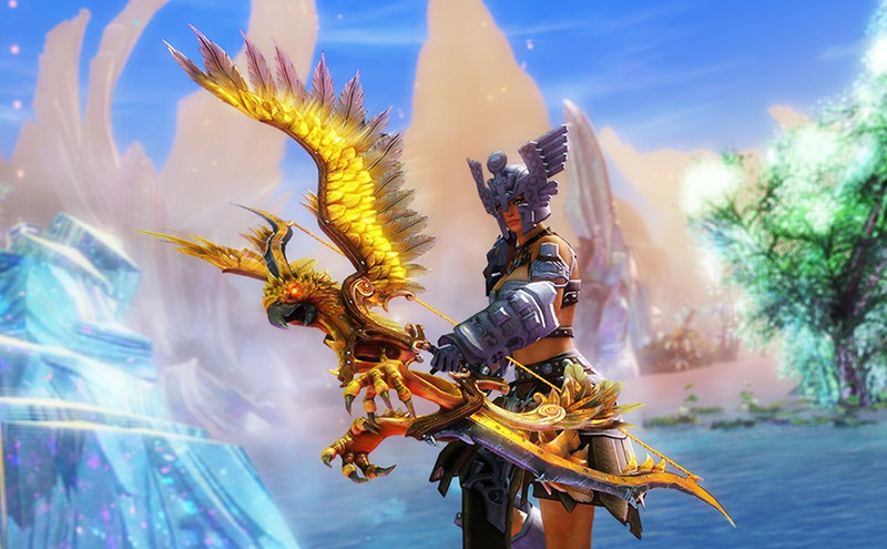 Guild Wars 2 Mount Up For Grothmar Valley With The Primal Spirit Jackal Skin