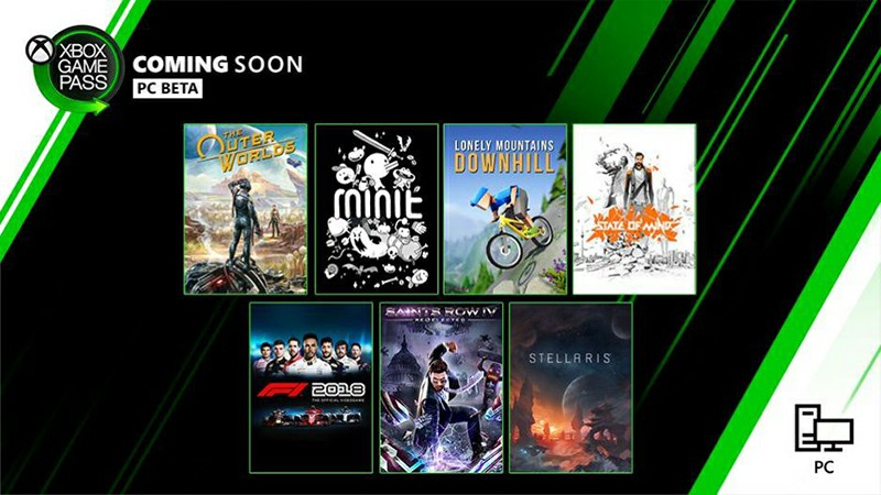 The Outer Worlds, Stellaris, Minit, and More Coming Soon to Xbox Game Pass for PC in October