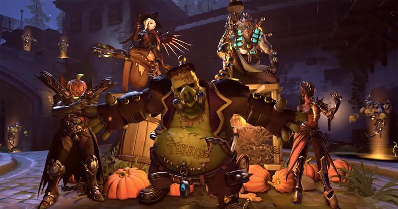 Overwatch's third annual Halloween Terror event has begun