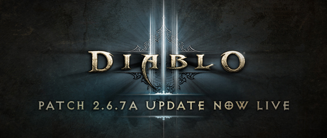 Diablo III Patch 2.6.7a Now Live