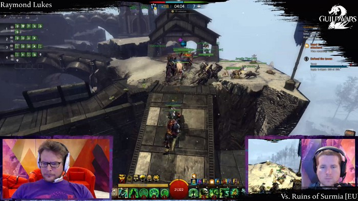 ArenaNet Livestream: Let's Play Guild Wars 2 World vs World (English) Thursday, August 8