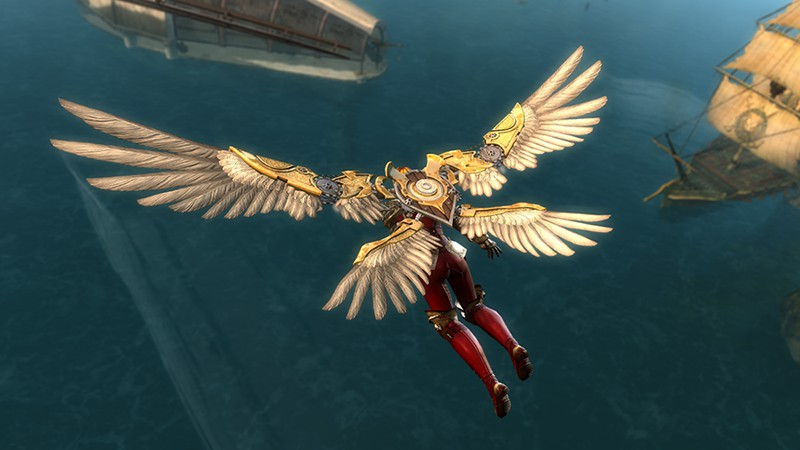 Guild Wars 2 Exclusive Item—Watchwork Wings Package